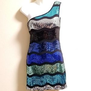 XXI Sequin Holiday Party Bodycon Dress